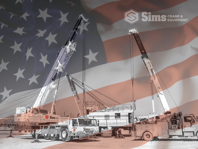 Sims Crane Celebrates American Freedom wallpaper image 1024 x 768 px