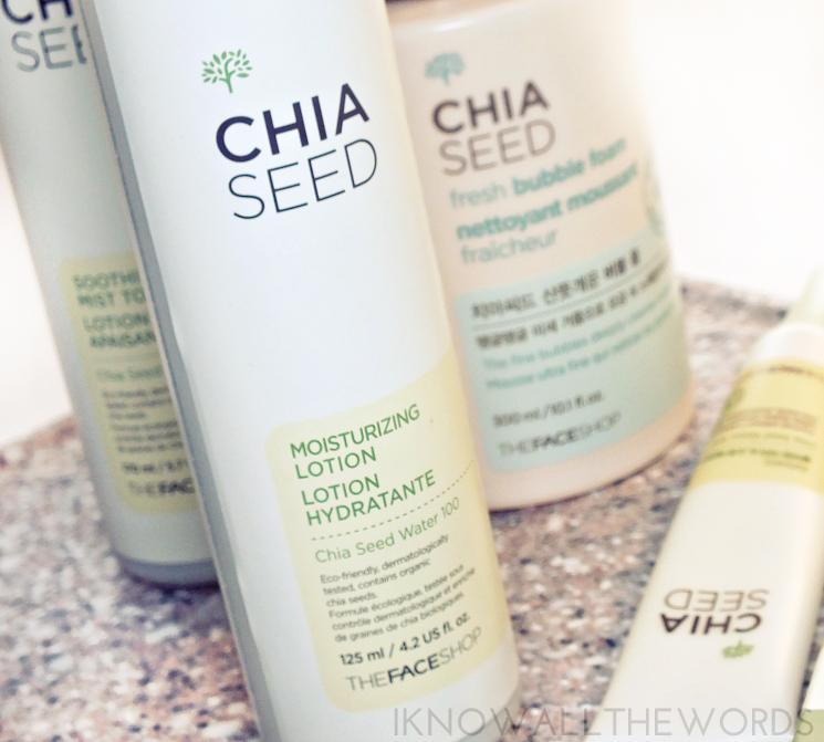 THEFACESHOP chia seed moisturizing lotion