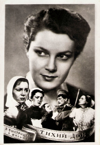 Elina Bystritskaya in Tikhiy Don (1957)
