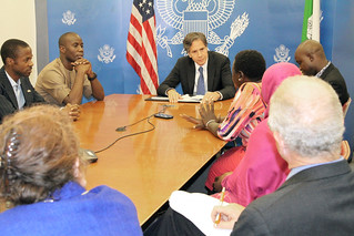 Deputy Secretary Blinken Meets With Participants in the Mandela Washington Fellowship