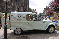 automobile, van, vehicle, citroã«n acadiane, vintage car, land vehicle, motor vehicle,