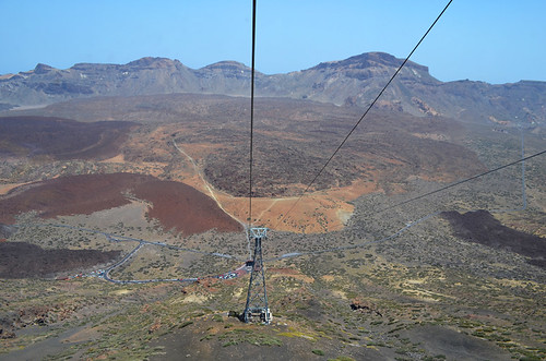 Teide National Park from Cable Car, Tenerife