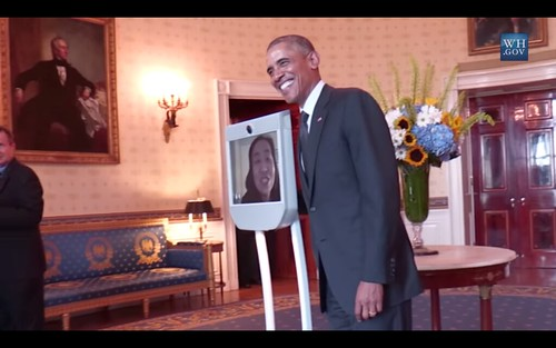 Screenshots from the White House video of President Obama Celebrating ADA25