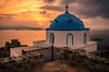 The sunrise Astypalea island Greece