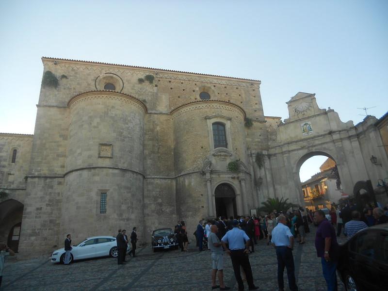 matrimonio, cattedrale,  absidi, porta dei Vescovi, Gerace