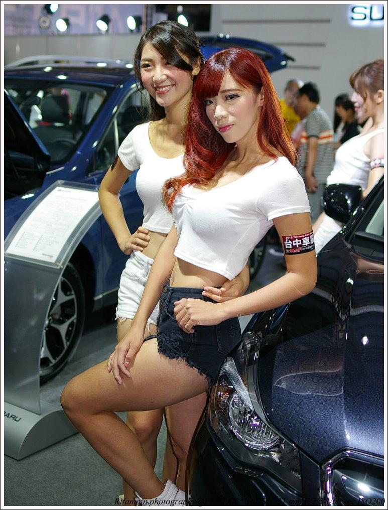 終於拍到一個像樣的臺中車展...by K10D&ist*Ds