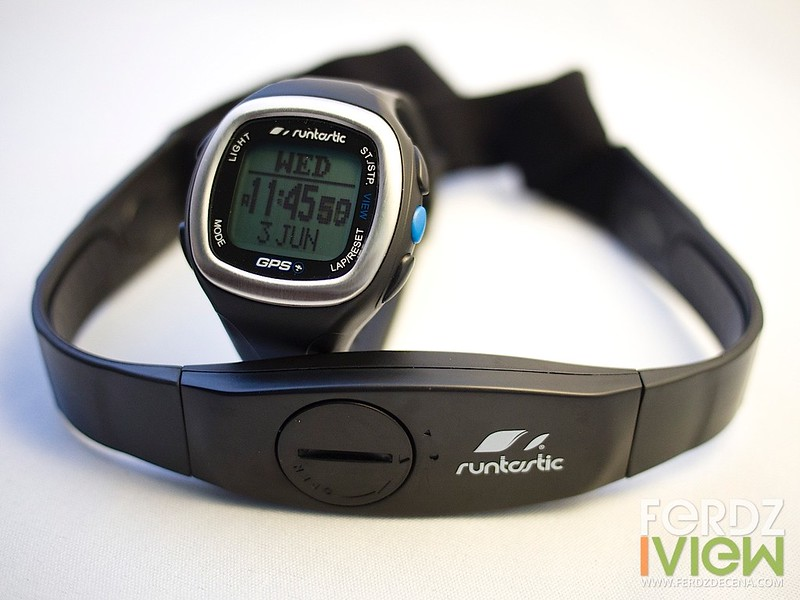 The Runtastic GPS Watch and Heart Rate Monitor