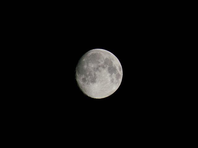 今日の月 Today's moon