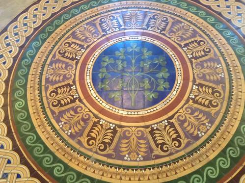 St George's Hall Floor.