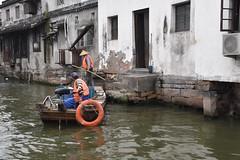 Along the canal - Suzhou, China
