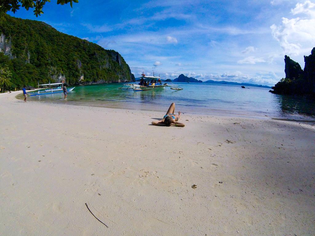 Papaya Beach en Palawan