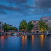 Amsterdam - Amstel and Theater Carré by Toon E