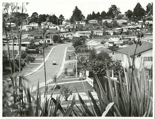 Suburban, Auckland: Castleford Street in the Green Bay-Titirangi area