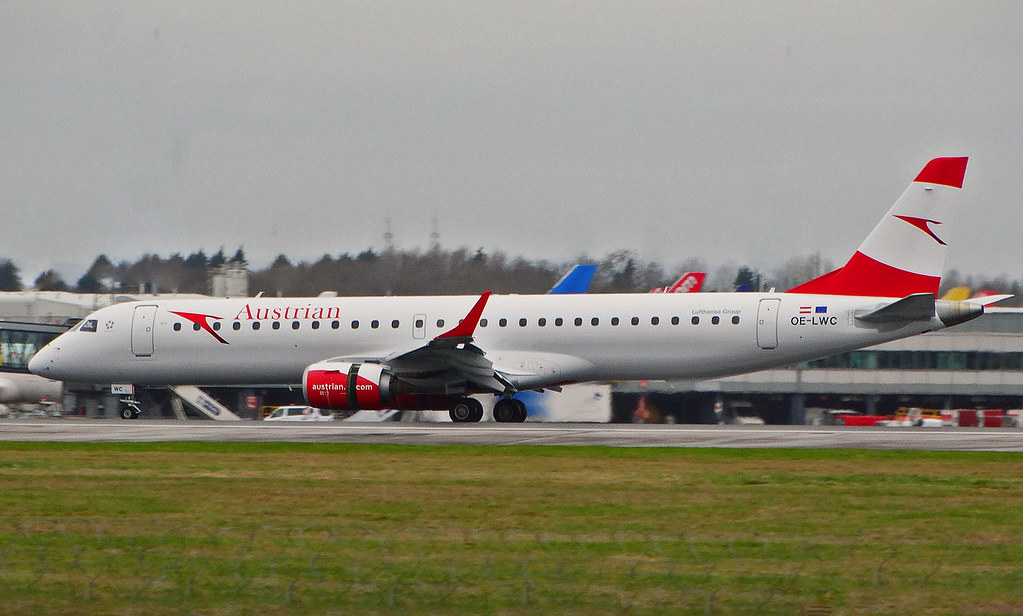 OE-LWC - E190 - Austrian Airlines