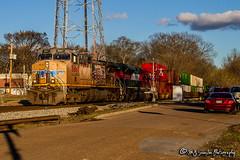 UP 5667   GE AC44CWCTE   NS Memphis District