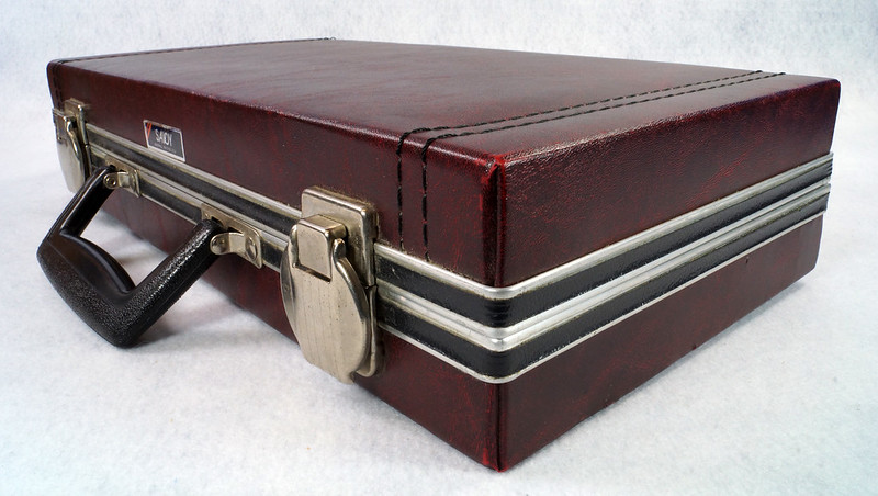 RD12878 Vintage Savoy 24 Cassette Tape Case Haverhill, MA with Bonus Tapes DSC08097