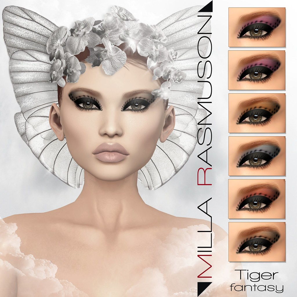 Tiger Fantasy for Catwa Head - SecondLifeHub.com