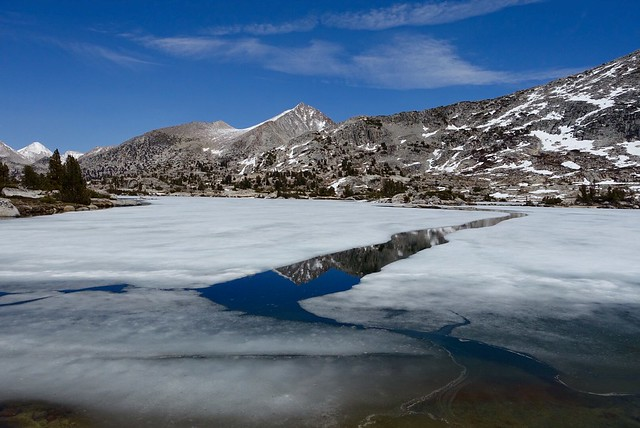 Ice on Marie Lake
