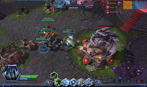 Heroes of the Storm nucleo