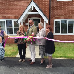 Opening of new affordable homes in Ridgewell, Essex