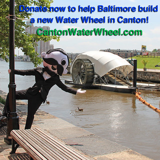 MrBoh and Water Wheel - square   Healthy Harbor   Flickr