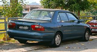 1996 Proton Wira 4-door sedan