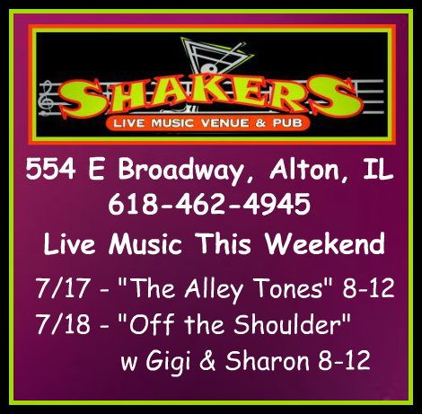 Shakers 7-17, 7-18-15