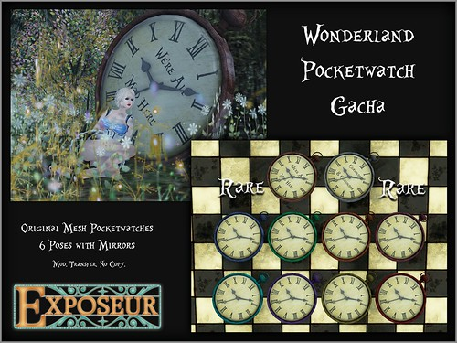 Exposeur - Wonderland Pocketwatch