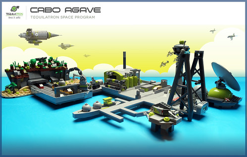 Cabo Agave Large overview of Space program