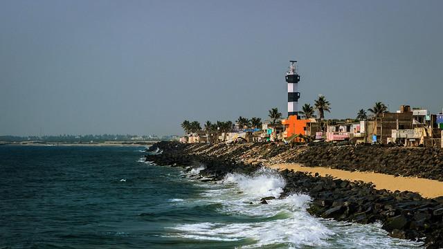 Lighthouse - Pondicherry, India