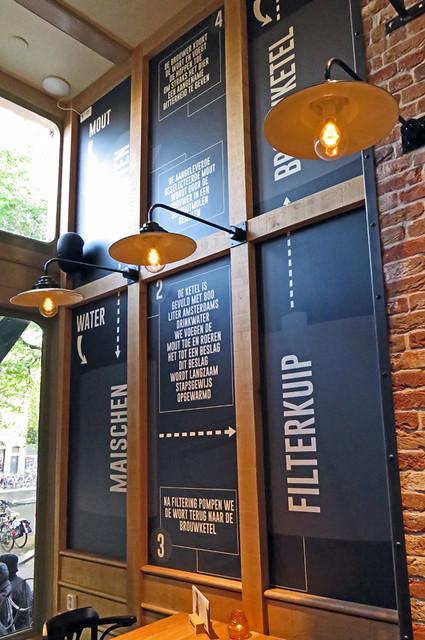Amsterdam's De Bekeer de Suster Brewpub Beer Menu