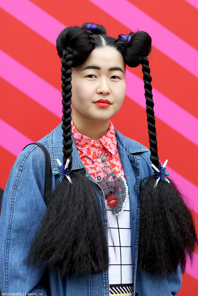 Lydia Chan at London Fashion Week