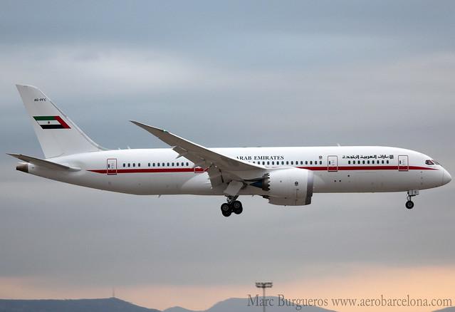 ABU DHABI AMIRI FLIGHT B787 A6-PFC