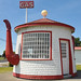former Teapot Dome gas station by RoadsideArchitecture.com