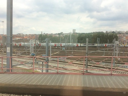 On the Thalys Train between Paris and Amsterdam