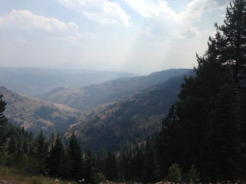 On the way to the McGraw fire lookout, Hells Canyon