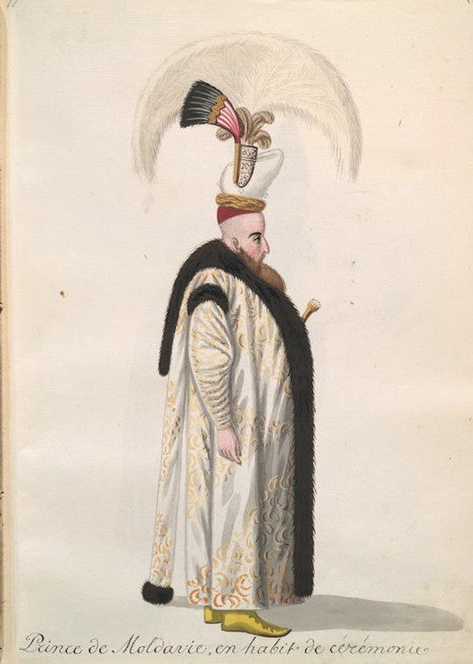 19th Century Album Of Ottoman Fashion The Public Domain Review