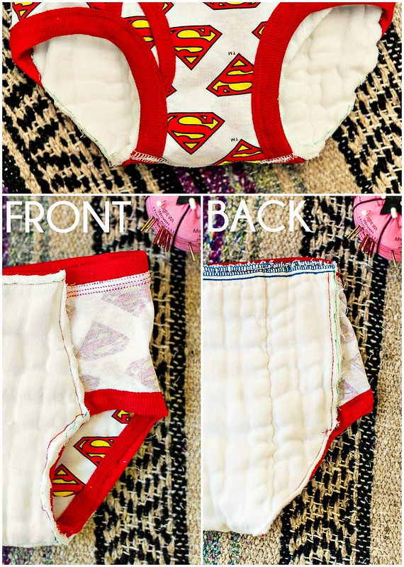 DIY cloth training pants underwear #zepsocialstars