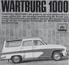 Wartburg 1000 Camping Limousine (1966)