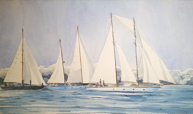 Porto Cervo Regatta - Historical Sailing Competition