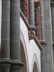 Eglise romane St Peter (XIIIe), Bacharach, landkreis Mainz-Bingen, Rhénanie-Palatinat, Allemagne.