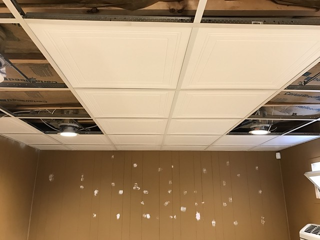Foundry back office ceiling tile