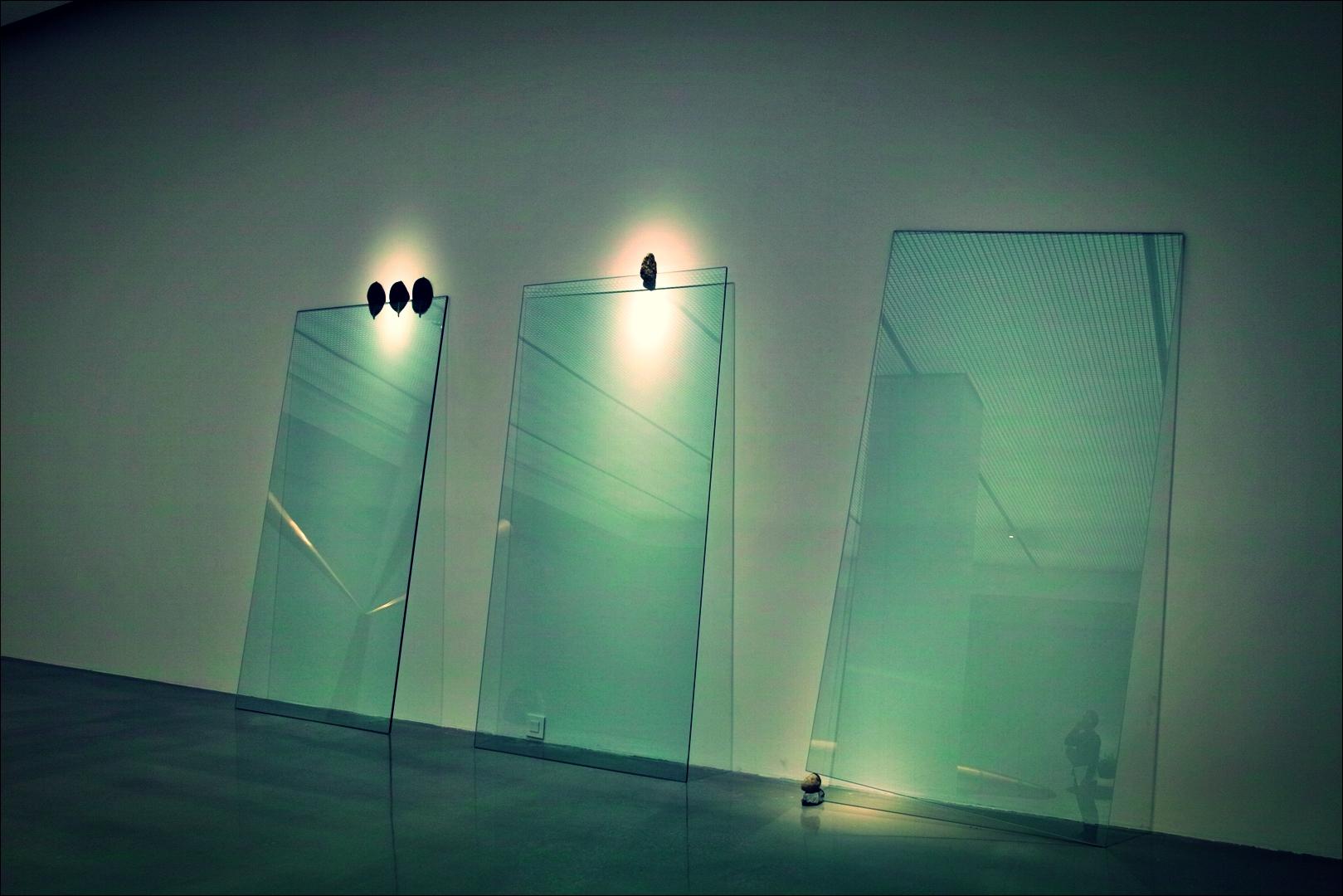 유리-'천안 아라리오 갤러리. 케이지 우에마츠 개인전. Keiji Uematsu - Invisible force'