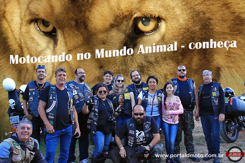 Motocando no Mundo Animal: