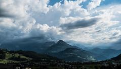 Stormy Clouds over Schwyz