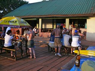Last Beer at Nile River Explorers
