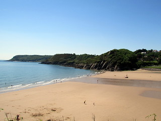 Image of Caswell Bay near Bishopston. walescoastpath