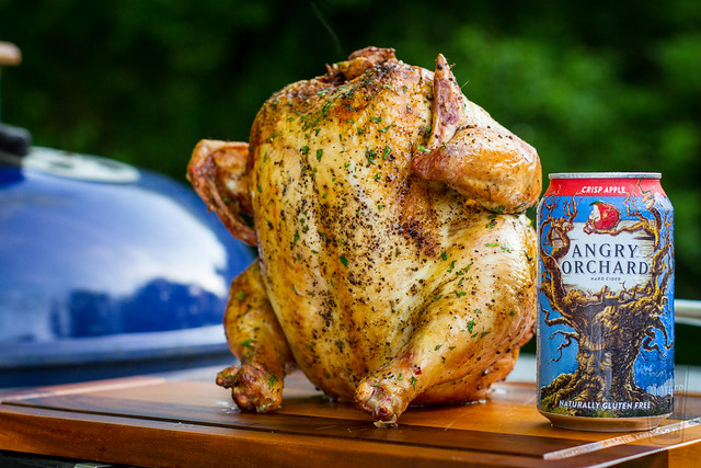 Angry Orchard Cider Can Chicken
