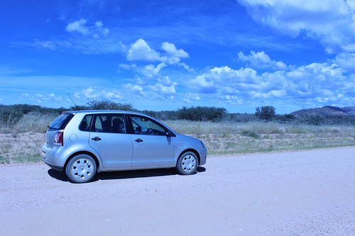 Our sweet ride for our trip through Namibia