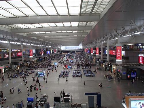 在上海虹橋高速鉄道駅 紅焼牛肉面 - naniyuutorimannen - 您说什么!